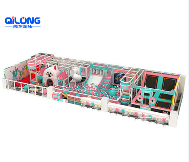 2019 hot sale indoor playground for kids soft playground equipment